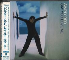 "Japan CD Import with Obi Strip, Simply Red: ""Say You Love Me"" UPC 4988029266941"