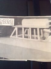 65-5 Ephemera 1966 Picture Denise Ann Leach Hovercraft Comes To Thanet