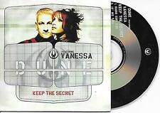 DUNE - Keep the secret CD SINGLE 2TR DUTCH CARDSLEEVE 1998 Euro House RARE!