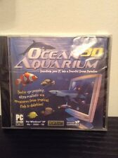 Ocean 3D Aquarium PC Monitor Aquarium Virtual Motion Desktop CD ROM PC