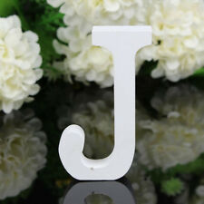 "Wooden Letters Alphabet Wall Hanging Wedding Party Home Decoration 3"" J LOT 5"