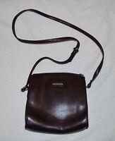 Liz Claiborne Accessories Burgundy Pebble Shoulder Bag