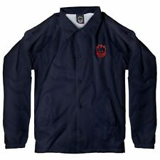 Spitfire Wheels BIGHEAD EMROIDERED LOGO Skateboard Jacket NAVY/RED XL