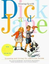 Growing up with Dick and Jane Learning Living Retro Childrens Book New Book