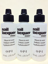 OPI - Nail Lacquer Thinner 2 fl.oz/60ml - Set of 3 bottles