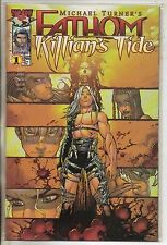 Image Comics Fathom Killians Tide #1 April 2001 Gold Variant Top Cow NM