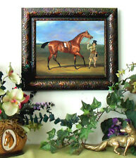 SALE Dalby Race Horse MATILDA Thoroughbred Print Antique Styl Framed picture