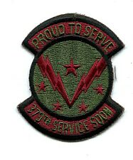 US Air Force 379th Service Squadron Military Patch