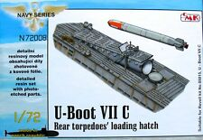 CMK 1/72 U-Boat Type VIIC Rear Torpedo Loading Hatch for Revell # N72008