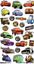 EK SUCCESS DISNEY PIXAR METALLIC STICKERS - LIGHTNING MCQUEEN ROUTE 66 - CARS