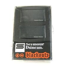 Seymour Duncan AHB-1 Blackouts Active Humbucker Pickup Set, Black AHB-1s