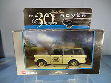 "CORGI MODEL No.57606  RANGE ROVER ""30th ANNIVERSARY GOLD PAINTED""LTD.EDITION MIB"