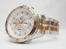 CASIO EDIFICE Copper-Steel Chrono Sports Watch for Mens EFR-547SG-7AVUDF(EX240)
