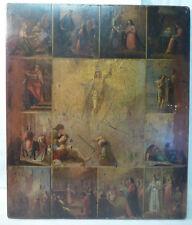 Icône de fête La résurrection du Christ/12 grandes fêtes de l'année Russie Ikon