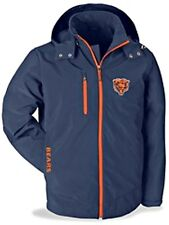 Chicago Bears NFL Soft Shell Black Coat hooded - NWT -  XL