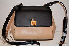 Ralph Lauren Whitby Crossbody Black/Stone Bag Handbag Sac Bolsa NWT MSRP$178.00