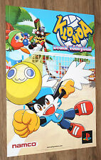 Klonoa Beach Volleyball very rare Promo Poster 59x42cm Playstation