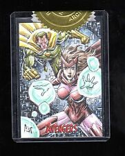 Marvel Avengers Silver Age Anthony Tan sketch card