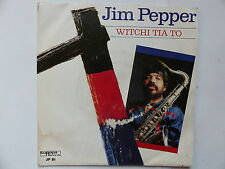 JIM PEPPER Witchi tia to EUROPA RECORDS JP S1
