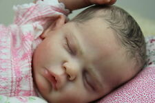 REBORN BABY GIRL EVELYN FROM CASSIE BRACE BY VAHNI GOWING