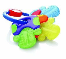 Nuby Ice Bite Baby Massage New Teeth Soothe Sore Gum Non Toxic Gel Teether Keys