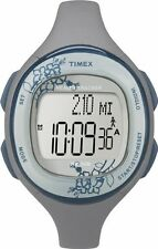 NEW TIMEX GRAY TONE, HEALTH TRACKER,WALK SENSOR,DIET DIARY,INDIGLO, WATCH-T5K485