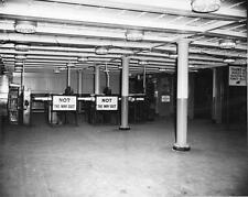 "Photo. 1958-9. Boston, MA. Interior of Dover Street Station ""NOT THE WAY OUT"""