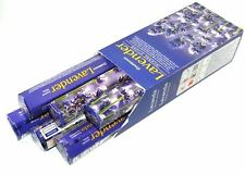 6 Box/Pack 120 Sticks total Darshan Lavender Quality Incense Fragrance India