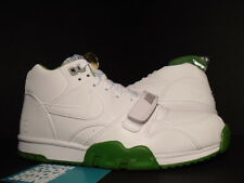Nike Air Max Trainer 1 Mid SP FRAGMENT WHITE 3M CHLOROPHYLL GREEN 806942-113 9.5