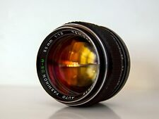 Tomioka Auto Yashinon DS-M  55mm f1.2 Lens M42 -perfect condition