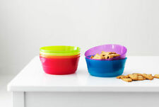 6 BPA FREE plastic microwave safe kids cereal bowl ikea KALAS birthday party