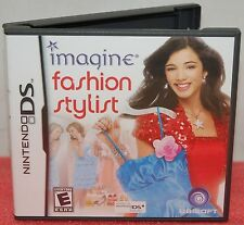 Nintendo DS DSi Imagine Fashion Stylst Video Game - Run Your Own Shopping Mall