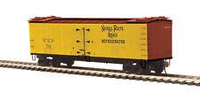 HO Scale R40-2 Woodside Reefer Car - Nickel Plate Road #701 - MTH #80-94027