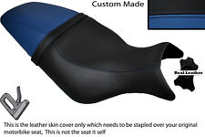 BLACK & ROYAL BLUE CUSTOM FITS BUELL CYCLONE M2 99-02 DUAL SEAT COVER