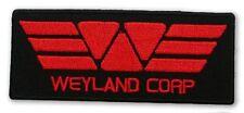 """PROMETHEUS """"Weyland Corp"""" Red - Uniform Captain Patch - ALIEN / ALIENS"""