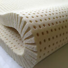 100% Natural Latex Mattress Topper - Any Size - Any Firmness - Up to 3