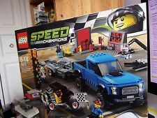 LEGO SPEED CHAMPIONS 75875 FORD F-150 RAPTOR AND FORD MODEL A NEUF EN BOITE
