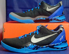 UNRELEASED SAMPLE Nike Kobe 8 System PP Black Blue SZ 9 / 9.5 ( 613959-004 )