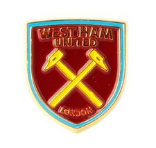 West Ham United stemma in metallo/smalto pin badge-Official Licensed Product (SPG)