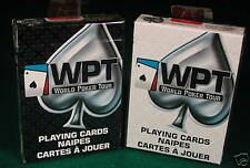 1 deck WORLD POKER TOUR PLAYING CARDS WHITE by USPCC  new