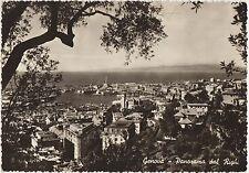 GENOVA - PANORAMA DAL RIGHI 1955