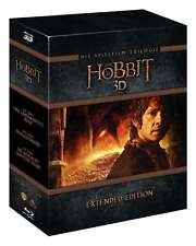 Esteso Box LO HOBBIT TRILOGY Teil 1 2 3 completare 15 BLU-RAY Box Edition NUOVO