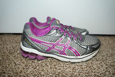 Asics Womens Gray Purple Shoes Sneakers Sz 10 T256N IGS GT-2170