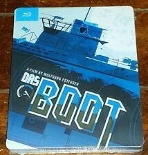 Das Boot (Blu-ray Disc, 2014, Steelbook) A Film by Wolfgang Peterson!