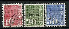 Switzerland 1970 SG#801-3 Coil Stamps Used Set #A70035