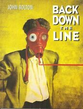 BACK DOWN THE LINE John Bolton - ECLIPSE HORROR GRAPHIC NOVEL 1991 - FIRST PRINT
