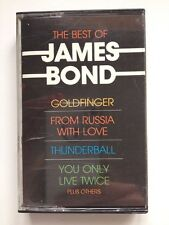 The Best of James Bond Music Cassette - Goldfinger - From Russia with Love etc.