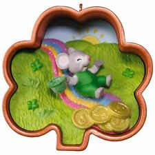 Hallmark 2017 Leprechaun, Cookie Cutter Mouse! Ornament 2nd in the Series