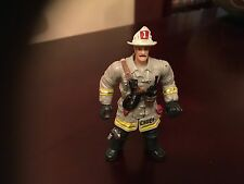 "FIRE CHIEF 4"" ACTION FIGURE BY CHAP MEI IN GREY VGCC"