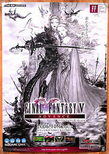 Final Fantasy V Advance RARE GBA 51.5 cm x 73 cm Japanese Promo Poster